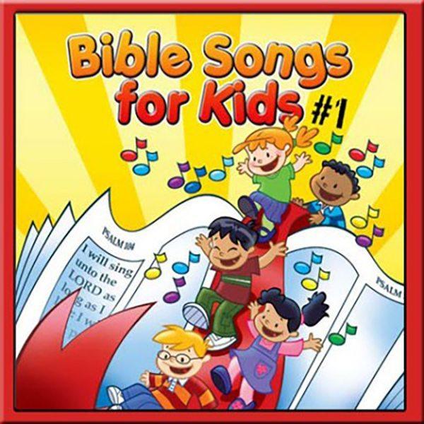 Bible Songs for Kids #1 Listening CD