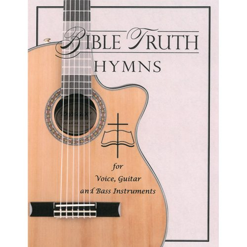 Pretty Book Cover Guitar : Guitar bass hymnal orchestration bible truth music