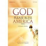 God Please Bless America Choral Book