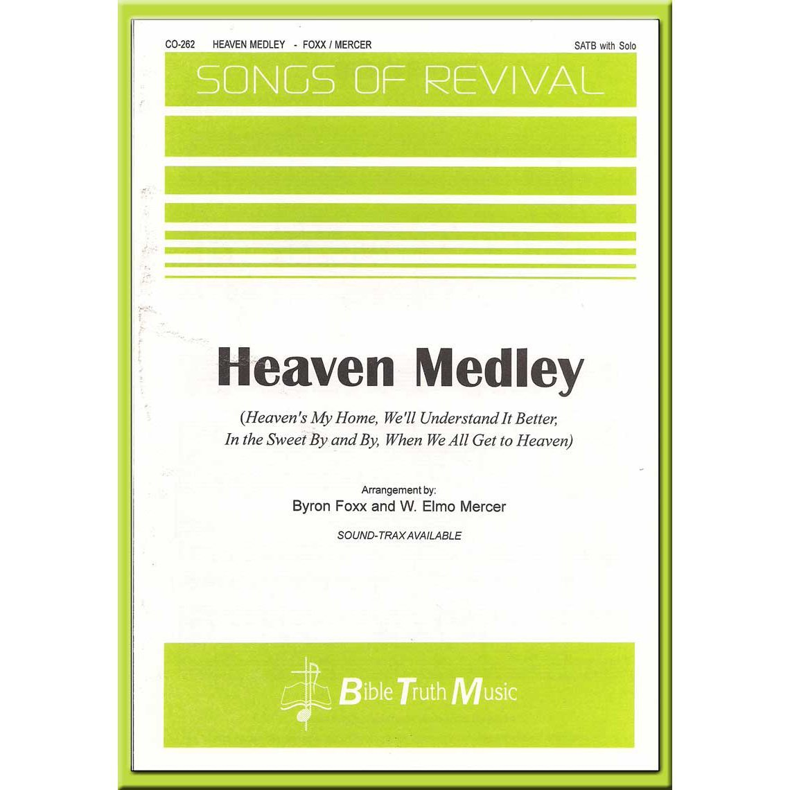 Heaven Medley Choral Octavo Download – Bible Truth Music