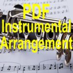 Rejoice Greatly Ye Daughters of Zion Flute Solo Instrumental PDF Downloadable