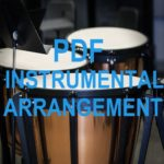 Holy, Holy, Holy Tambourine & Bells Solo Instrumental PDF Downloadable
