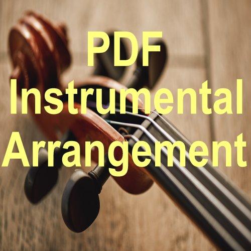 Praise Him All Ye Little Children Violin Solo Instrumental PDF Downloadable